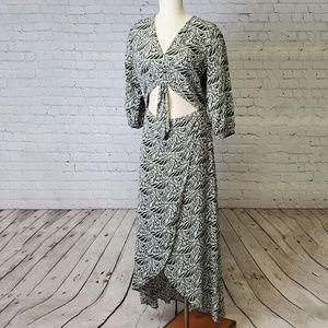 NWT Express Leaf Dress